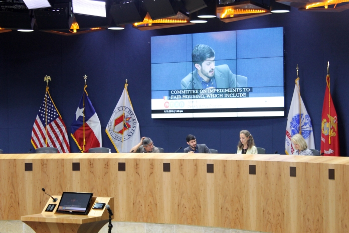 The Planning and Neighborhoods Committee discusses recommendations for accessory dwelling units. They will present the Planning Commission recommendations to the Austin City Council on Thursday.