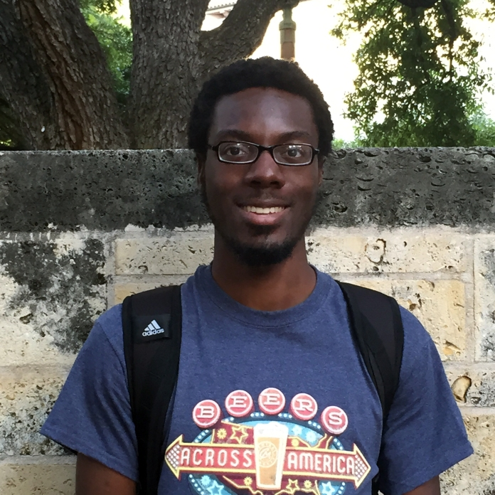 Frank Onuorah is a UT student specializing in urban studies and a member of AURA. He would like to see more housing options in Austin.